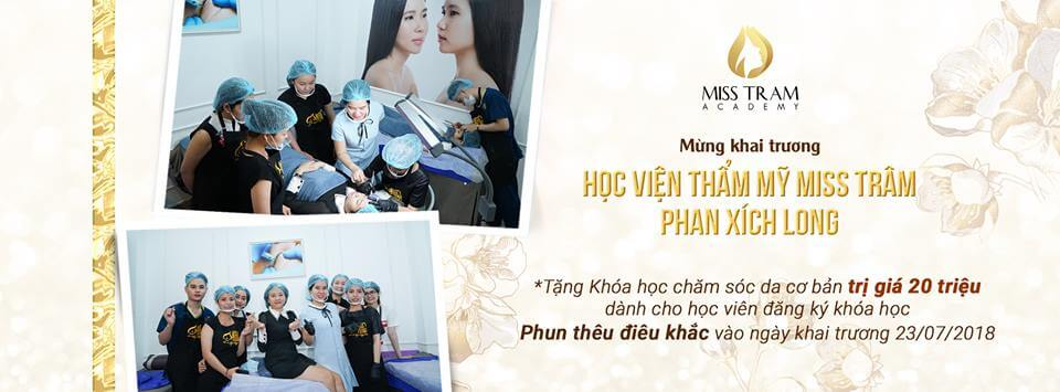 hoc vien phun xam dieu khac tham my miss tram - Ưu Đãi Khai Trương Mừng Chi Nhánh Mới Miss Tram