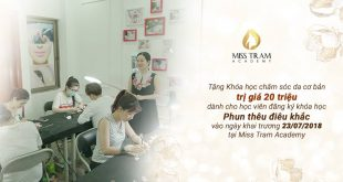 hoc vien tham my misstram khai truong 310x165 - Mừng Khai Trương Miss Tram Academy 23/07/2018