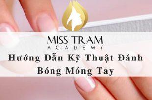 3. Huong dan ky thuat danh bong mong tay 310x205 - Hướng Dẫn Kỹ Thuật Đánh Bóng Móng Tay