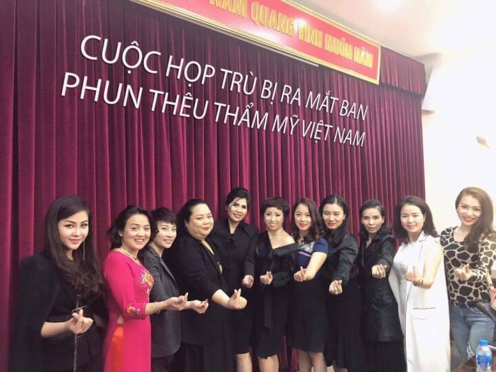 4 2024 - Ban Phun Thêu Thẩm Mỹ Việt Nam Ra Đời - Cơ Hội Vàng Cho Tài Năng Trẻ