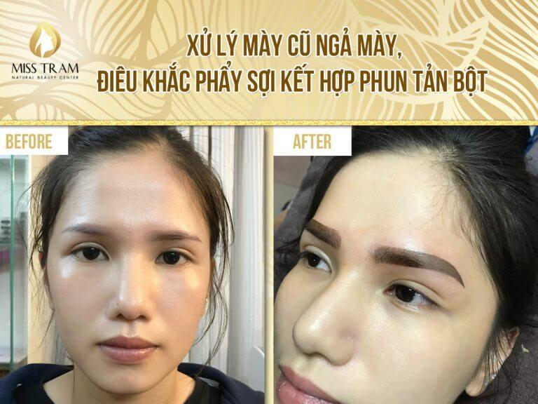 Kỹ Thuật Phun Lông Mày Ombre 1