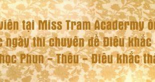hoc vien miss tram academy on bai truoc ki thi phun xam 310x165 - Học Viên Miss Tram Academy Ôn Bài Trước Ngày Thi