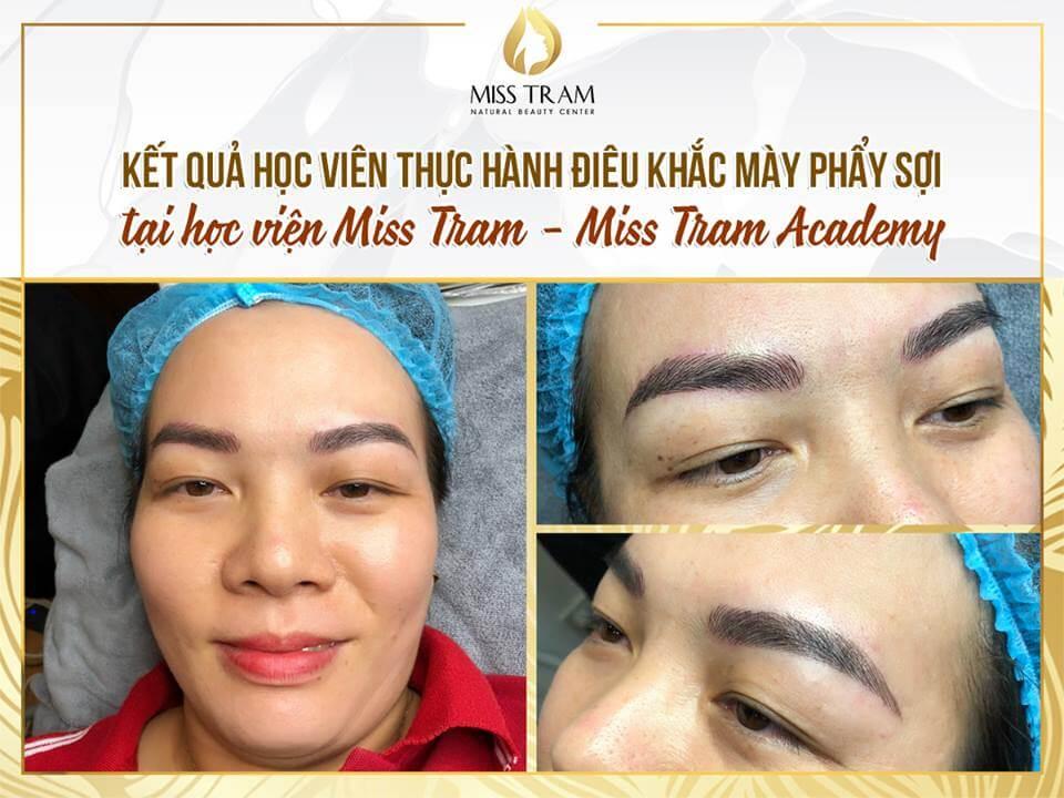 ket qua phun xam chan may hoc vien miss tram - Kết Quả Học Viên Tại Miss Tram Academy - Phun Mày Ombre