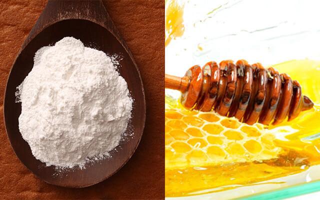 mat na tu mat ong va baking soda - Điều Chế Mặt Nạ Collagen Từ Các Thành Phần Tự Nhiên