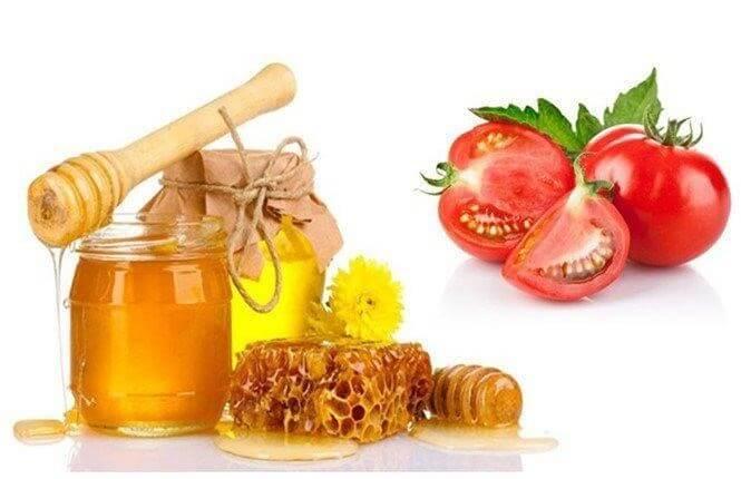 trang da voi ca chua va mat ong - Gợi Ý 3 Công Thức Mặt Nạ Trắng Da Bằng Cà Chua Hiệu Quả