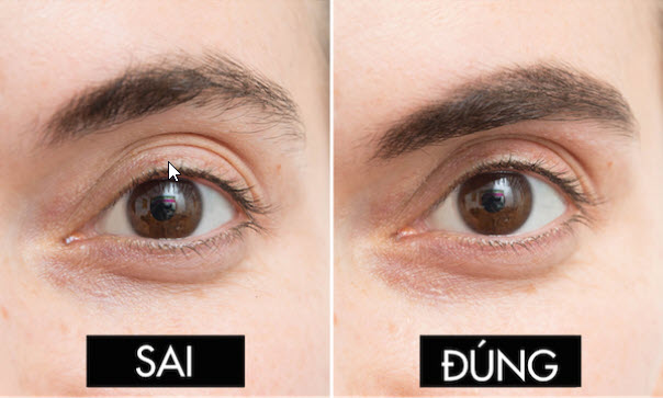 How to choose & draw eyebrows shape suitable for each face, skin color 17