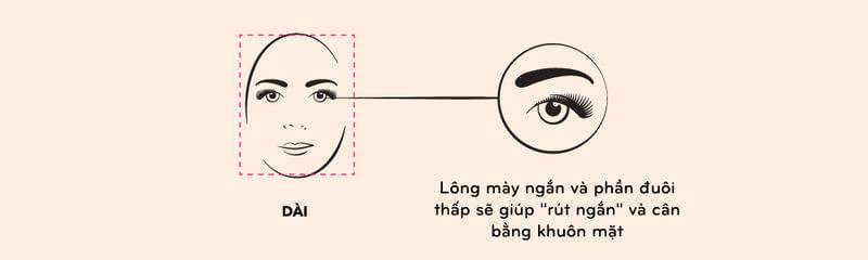 How to choose & draw eyebrows shape suitable for each face, skin color 9
