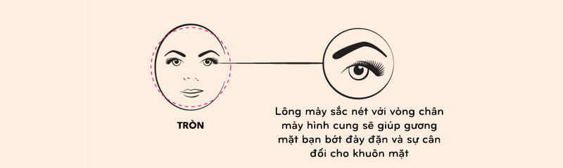How to choose & draw eyebrows shape suitable for each face, skin color 5