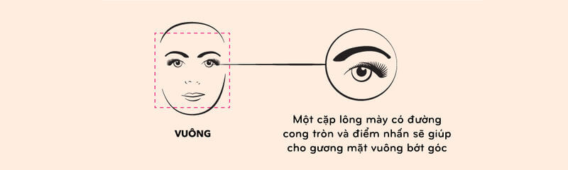 How to choose & draw eyebrows shape suitable for each face, skin color 7