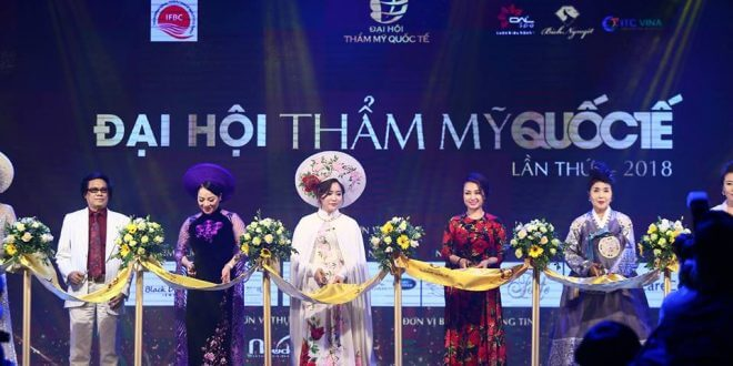 Information about the First International Beauty Conference in Vietnam in 2018 1