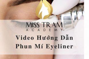 Video Hướng Dẫn Phun Mí Eyeliner 1