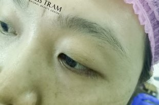 Results Before and After Sculpting Eyebrows with 9D Fibers for Women 11