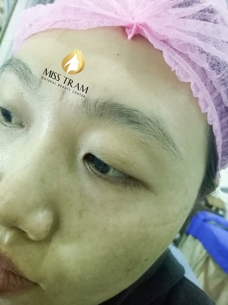 Results Before And After Sculpting Eyebrows With 9D Yarns For Women 2
