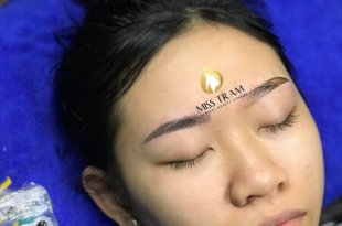 Before and After Using Sculpted Eyebrow Sculpting Technology 9D 15