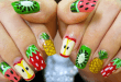 Revealing 30 Beautiful Nail Patterns - Leong Cam Nhung 10