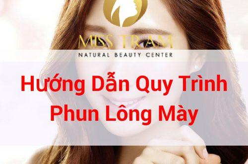 Video Hướng Dẫn Quy Trình Phun Lông Mày 1