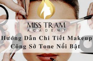 Hướng Dẫn Chi Tiết Makeup Công Sở Tone Nổi Bật 1