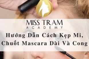 Hướng Dẫn Cách Kẹp Mi, Chuốt Mascara Dài Và Cong 10