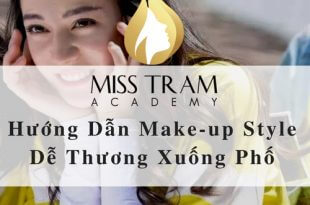 Tutorial Make-up Style Cute Down the Street 3