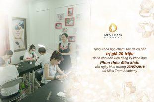 hoc vien tham my misstram khai truong 310x205 - Mừng Khai Trương Miss Tram Academy 23/07/2018
