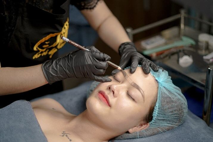 Cosmetic tattoo spray course