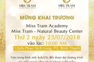 Grand Opening Ceremony New Miss Tram 3
