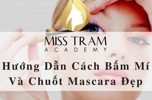 Hướng Dẫn Cách Bấm Mí Và Chuốt Mascara Đẹp 1