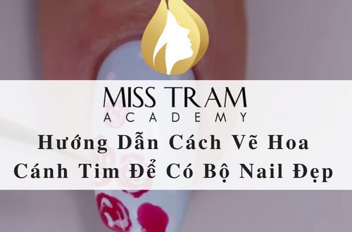 Tutorial How to Draw Flower Wings To Get Beautiful Nail Set 1