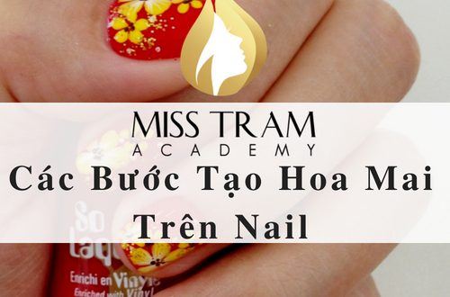 Steps Create Plum Blossom On Nail 1