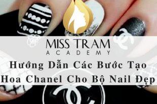 Hướng Dẫn Các Bước Tạo Hoa Chanel Cho Bộ Nail Đẹp 4