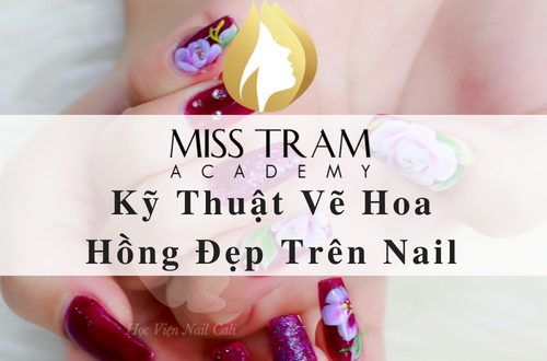 Techniques Of Drawing Roses On Nail 1