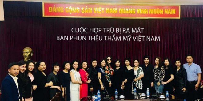 Ban Phun Thêu Thẩm Mỹ Việt Nam Ra Đời - Cơ Hội Vàng Cho Tài Năng Trẻ 5