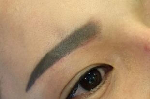 Handling Blue, Red-eyed Brow Into New European Standard Eyebrow 14