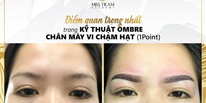 The Most Important Point of Technology Ombre Eyebrow Powder Coating 1