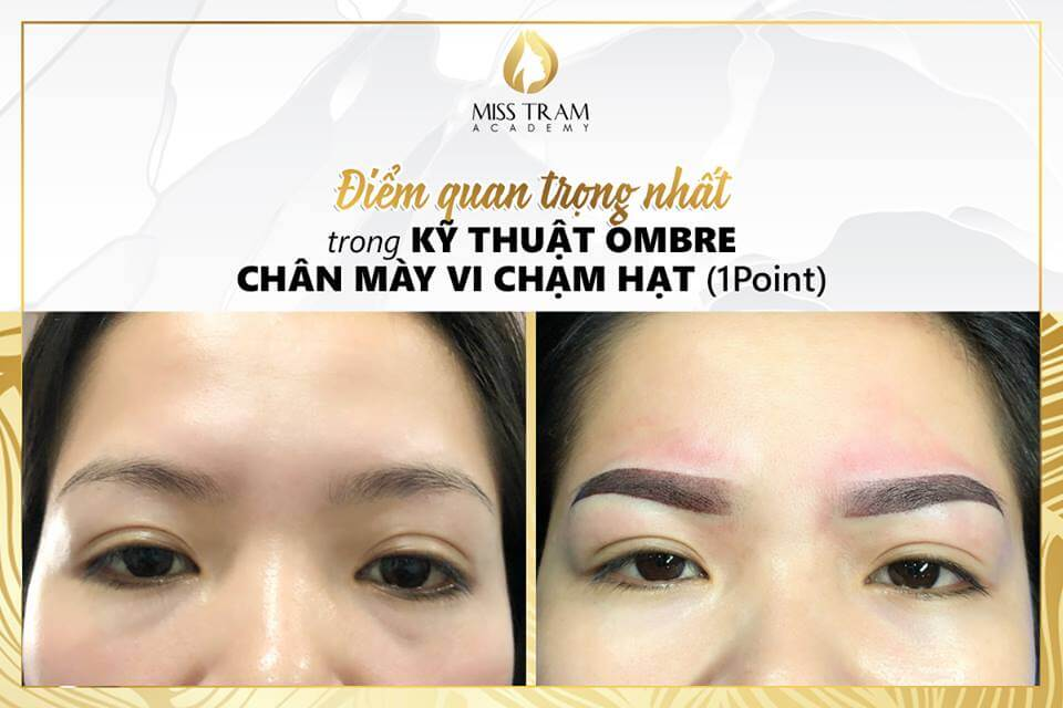The Most Important Point Of The Ombre Powder Eyebrow Coating Technique 2