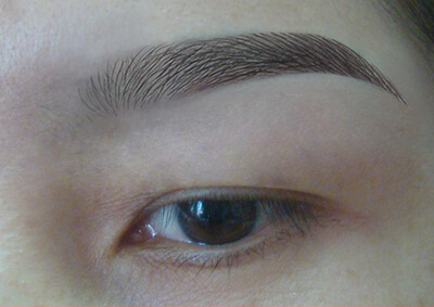 Key Point in Ombre Eyebrow Micro-Touch Technology 1