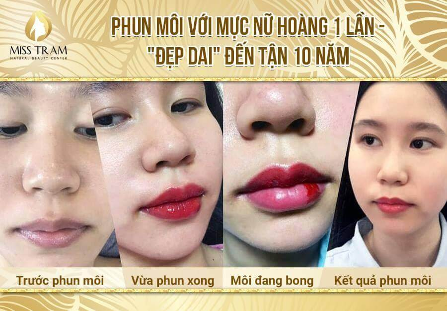 Share how to edit lips, standard lip borders