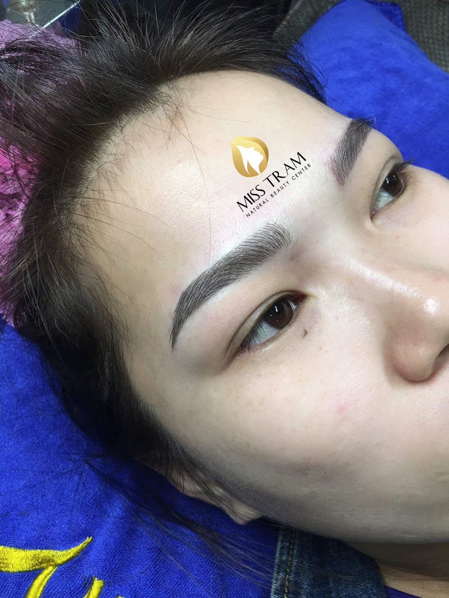 Before and After Sculpting Eyebrow Scrap 9D, Improving Pale Eyebrows 3