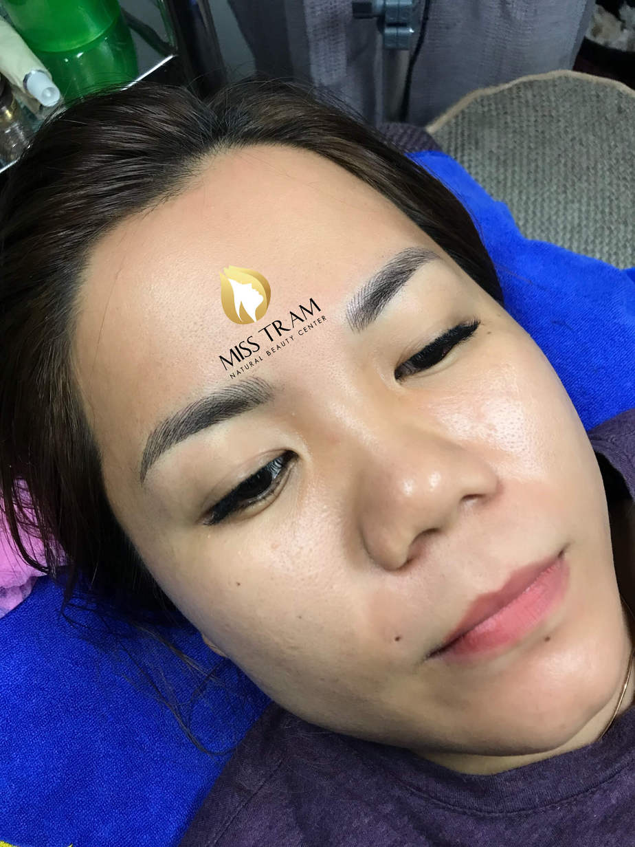 Before and After Sculpting Eyebrow Scraping 9D for Women 4