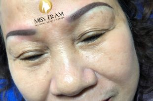 Before And After Treatment Of Old Eyebrow - Natural Brown Eyebrow Spray 7