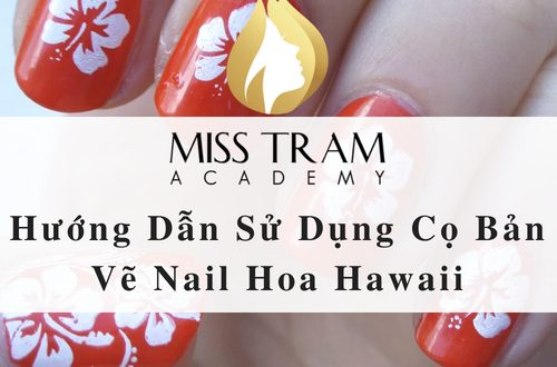 How to Use The Hawaiian Nail Drawing Brush 1
