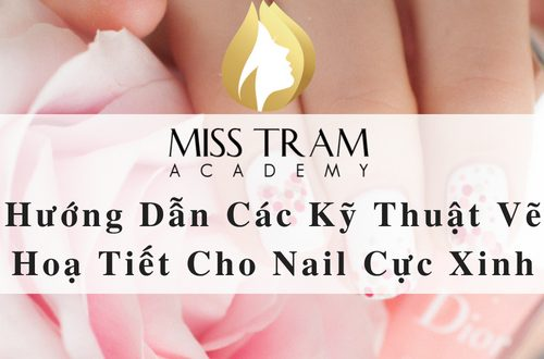 Instructions on Techniques Texturing Nail Extremely Beautiful 1