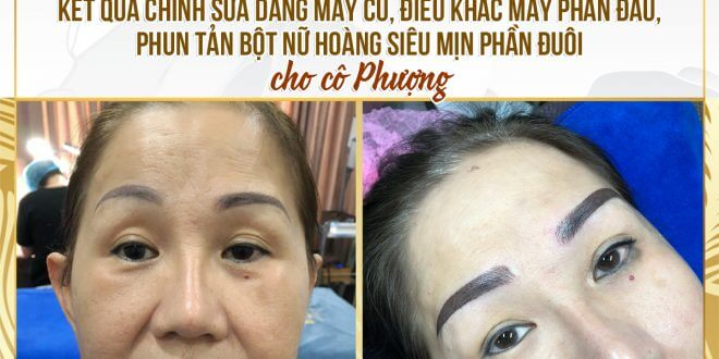 How to Handle Eyebrows Sprayed Too Deep into Natural Colors 1