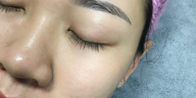 Tips for Treating Guests Spraying Difficult to Eat Colored Eyebrows 1