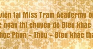 Miss Tram Academy student on the exam test, Missing Academy Academy Miss Miss Academy Academy Review Before the Exam Day