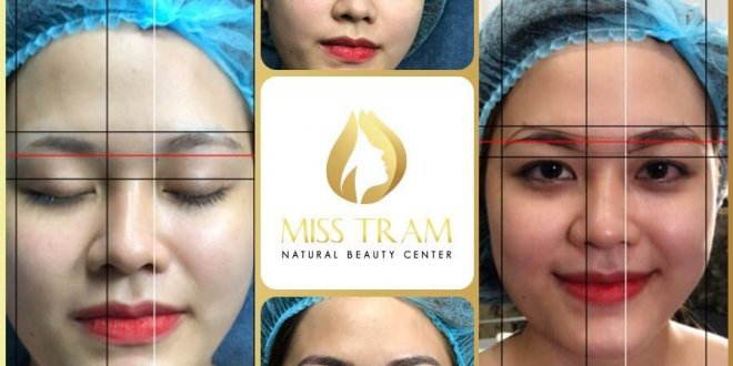 Using Application (App) Draw Eyebrows In The Best Golden Ratio 1