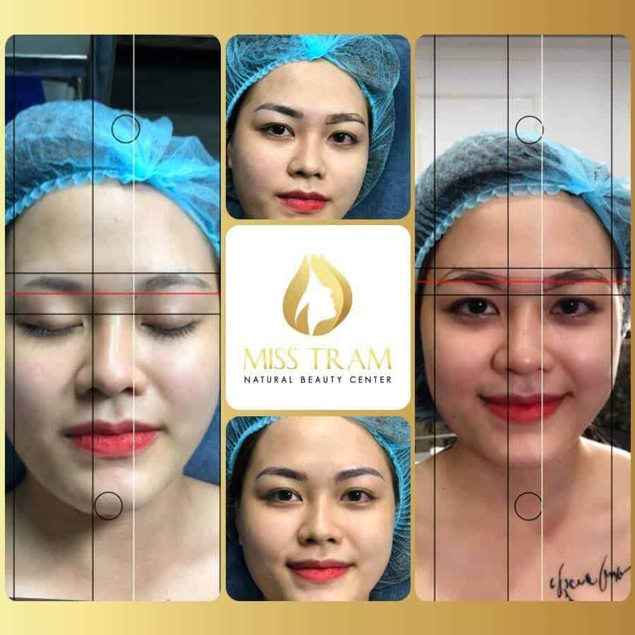 Using Application (App) Draw Eyebrows In The Best Golden Ratio 2