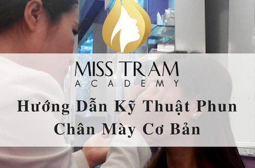 10. Ky thuat phun xam chan may co ban 500x330 - Hướng Dẫn Kỹ Thuật Phun Chân Mày Cơ Bản