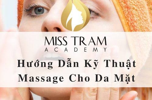 Instructions on Massage Technique for Facial Skin 1