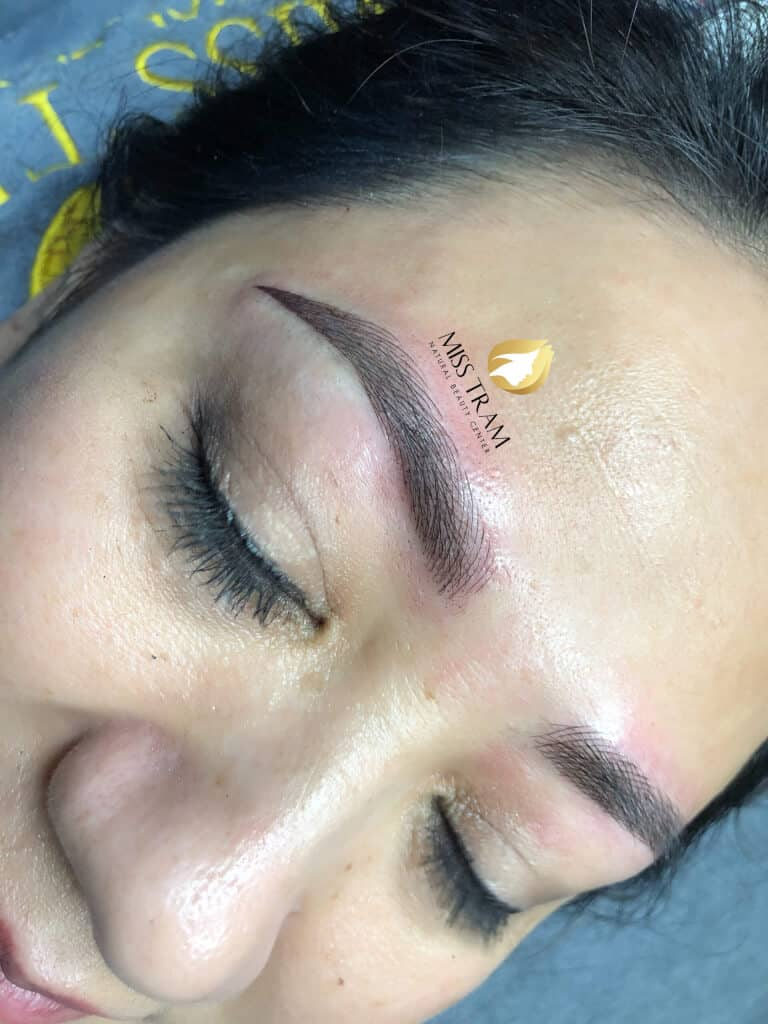 Before and After Beauty Eyebrow With Sculptor Queen 3